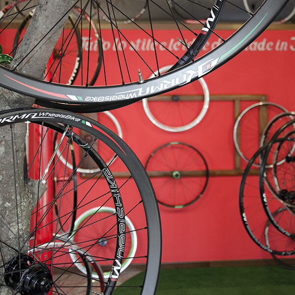 showroom wheelsbike vicenza