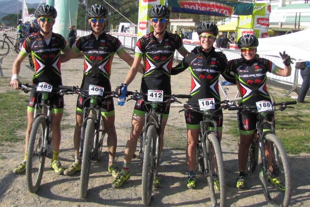 il team a Laigueglia