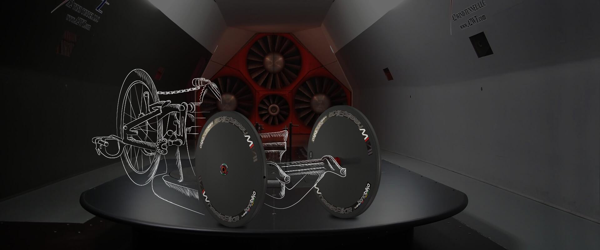 aerodinamica lenticolare handbike wheelsbike 4