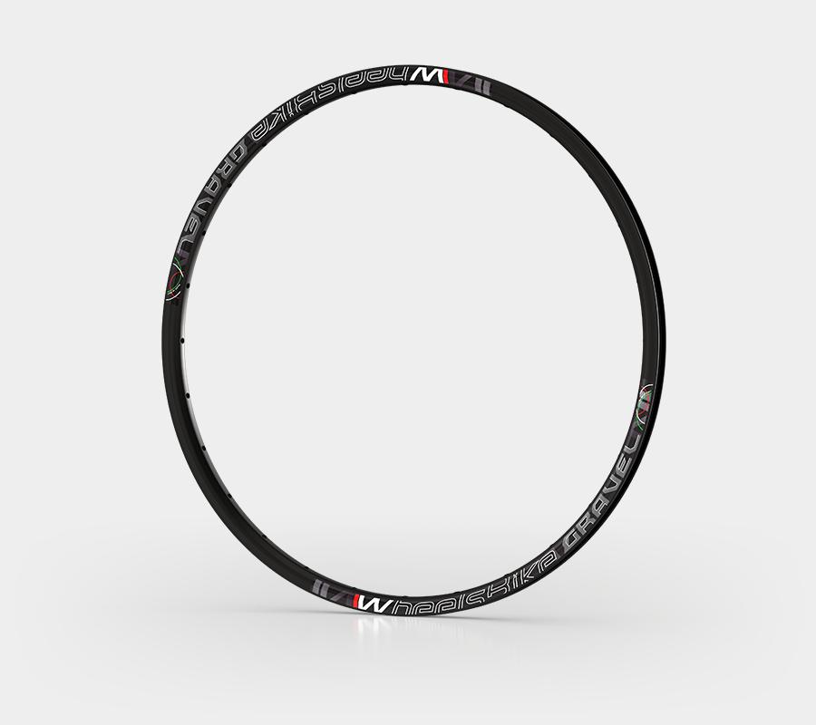 cerchio alluminio bici da strada gravel