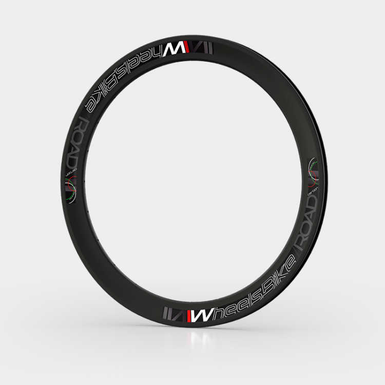 Road Carbon Asymmetric Rim H50 and H40
