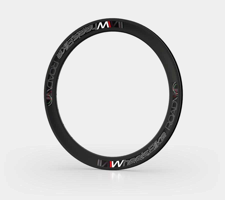cerchio carbonio bici da strada h55