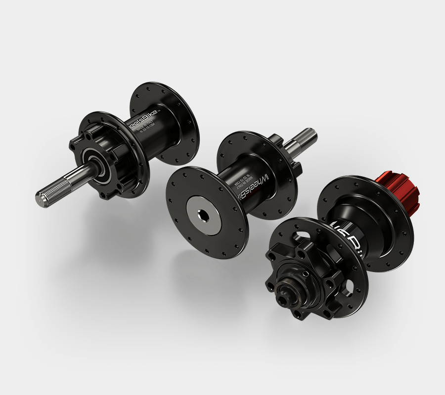 Handbike Hi Performance Disk Hubs Set