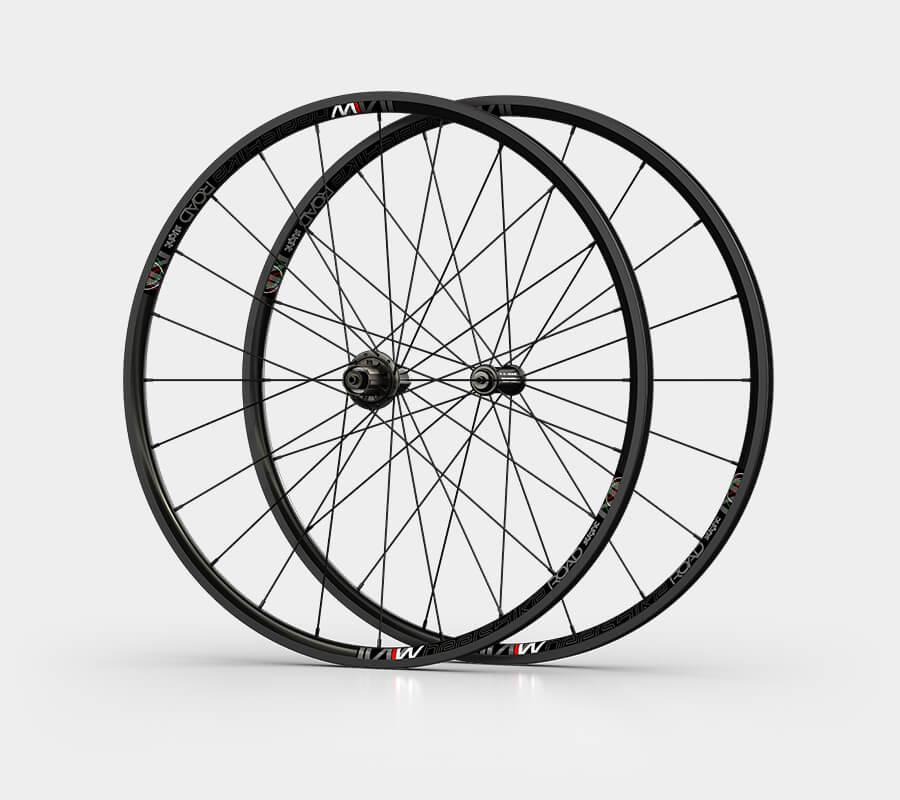 ruote da strada road - alluminio 23 - wheelsbike