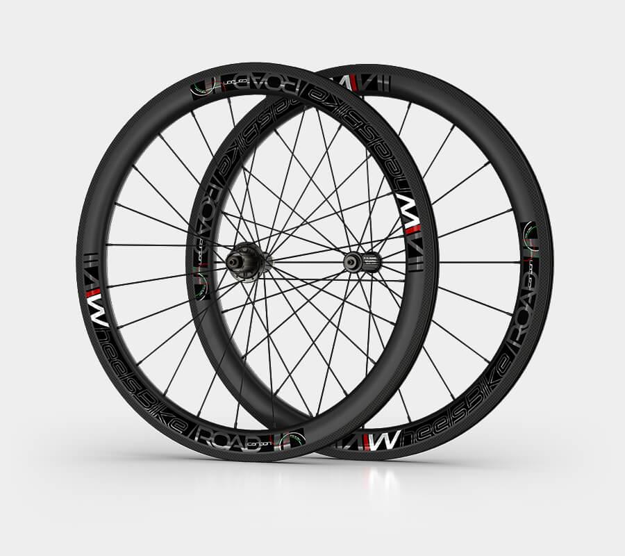 ruote da strada road - carbonio - wheelsbike
