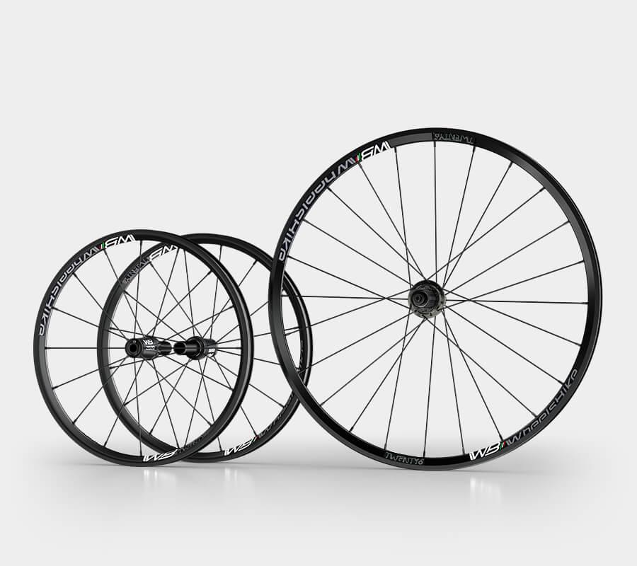 ruote handbike alluminio 26 pollici e alluminio 20 - wheelsbike