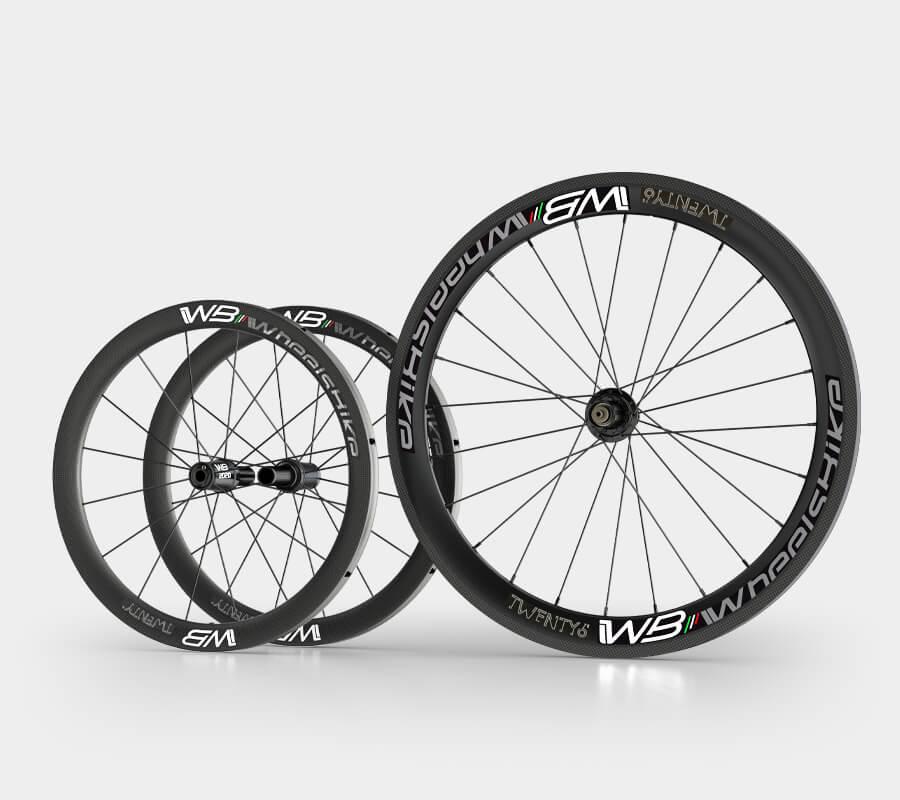 ruote handbike carbon 26 pollici e carbonio 20 - wheelsbike