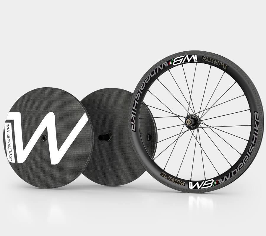 ruote handbike carbon 26 pollici e lenticolari 20 - wheelsbike
