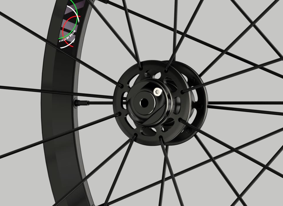 set ruote alluminio 20 handbike wheelsbike wheelchair mozzo