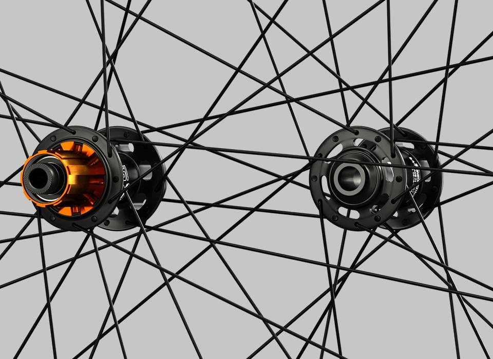 set ruote alluminio da strada disk mozzo