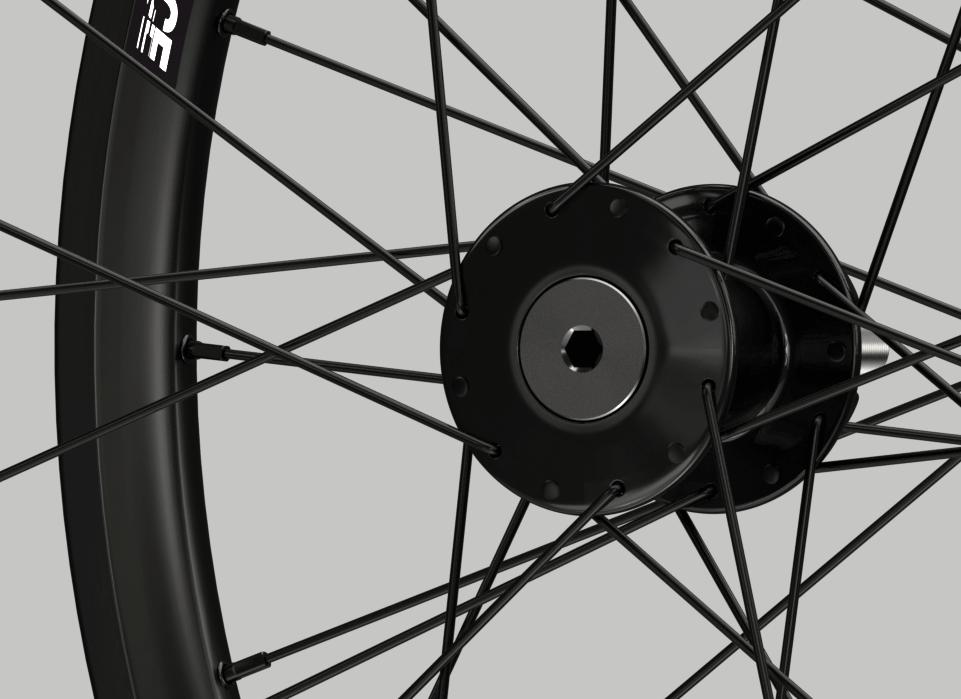 set ruote alluminio handbike wheelsbike hi performance disk mozzo
