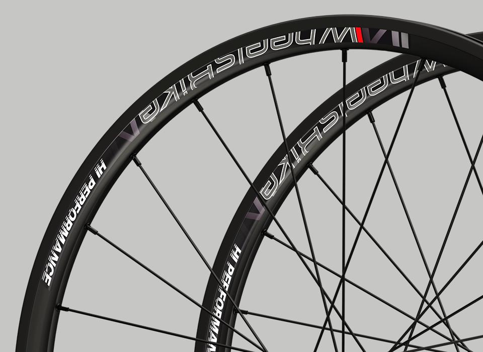set ruote alluminio handbike wheelsbike hi performance nero cerchio