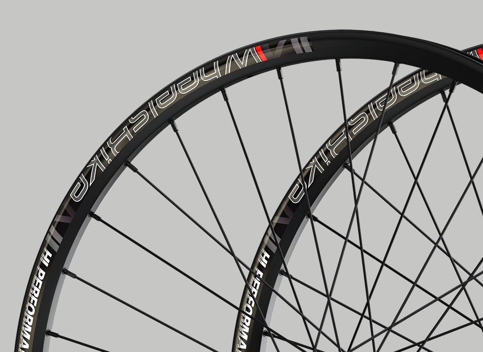 set ruote alluminio mtb hi performance cerchio