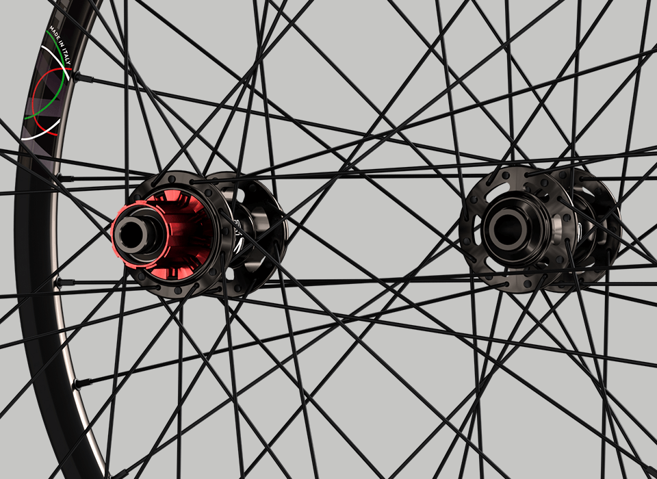 set ruote alluminio mtb slight mozzi