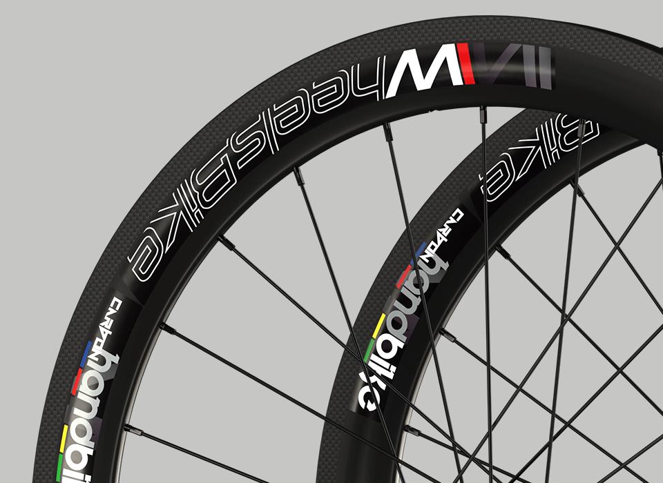 set ruote carbonio handbike wheelsbike slight cerchio
