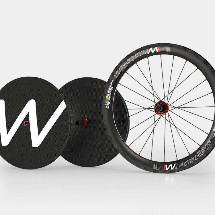 Ruote Handbike Carbonio Twenty 20″ + Carbon 26″ Tubolare
